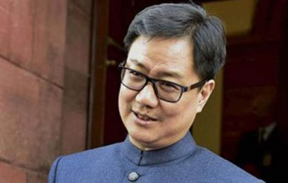 Government won't have say on India's participation in Davis Cup tie in Pakistan: Kiren Rijiju