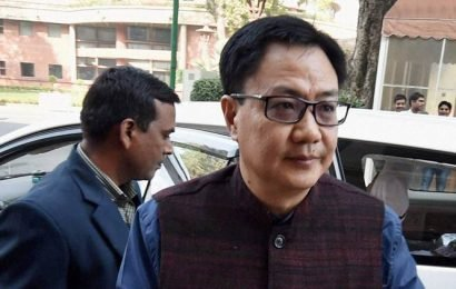 New sports policy to support players being planned, says Kiren Rijiju