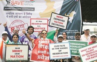 Group stages protests in Mumbai, Solapur, Nagpur; demands quota cap at 50 per cent