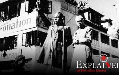 Explained: A short history of Kashmir before the Mughals