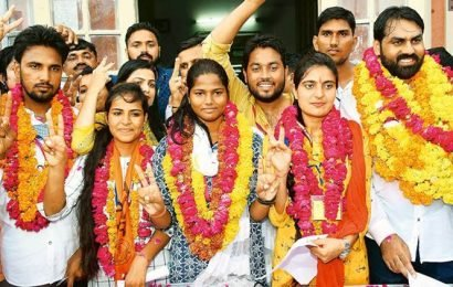 Rajasthan students' union polls: NSUI fails to bag top post in government varsities