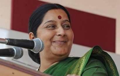 Leaders pay tribute to Sushma Swaraj