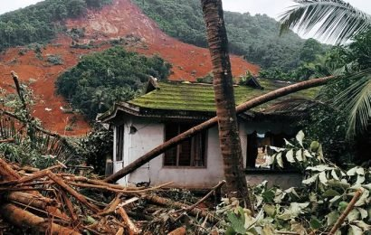 Nilambur landslide: Only house standing, but resident not sure if it's a good thing to be alive
