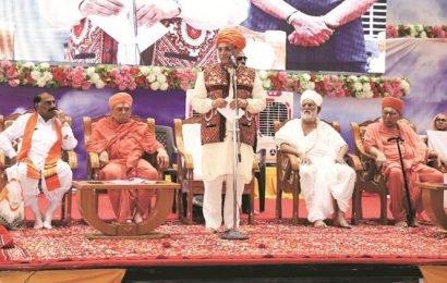 Gujarat CM Rupani declares end of scarcity in Kutch