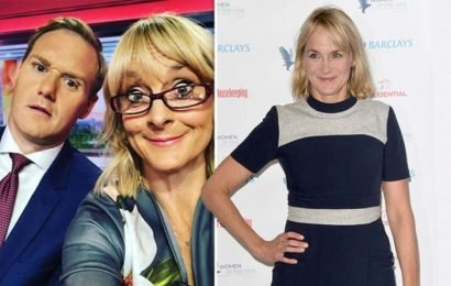 Louise Minchin: 'We actually…' BBC Breakfast star reveals 'first' with co-host Dan Walker