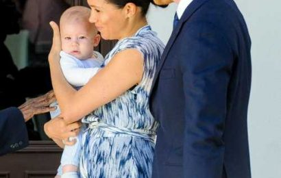 The Duke & Duchess of Sussex took Archie to meet Desmond Tutu