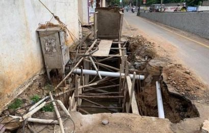 'Remove EB junction boxes to complete SWD construction'