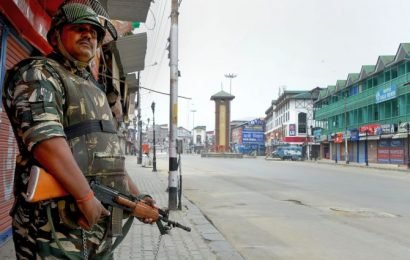 Curbs eased; normal life remained affected in Kashmir