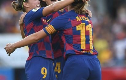 Ruthless Barca crush Tacon in first women's 'Clasico'