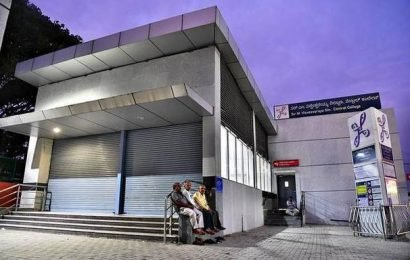 Some entry points of metro stations have remained shut for over two years
