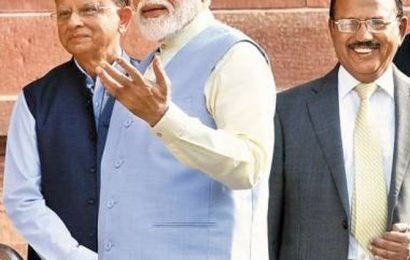 PMO defines work areas for PK Mishra, Doval and Sinha