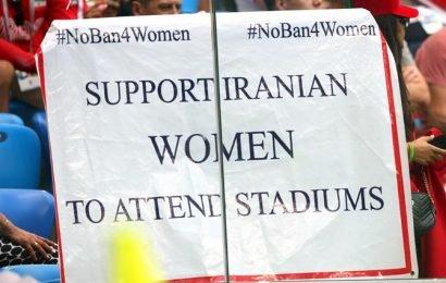 Time to allow women into stadiums: FIFA tells Iran