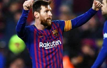 La Liga: Messi 'likely to miss Barca's next two fixtures'