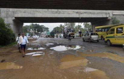 Heavy rain in Bengaluru