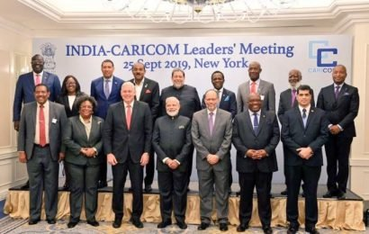Modi extends $150m credit to Caribbean nations