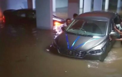 Canal wall collapses in Hyderabad, 200 houses flooded
