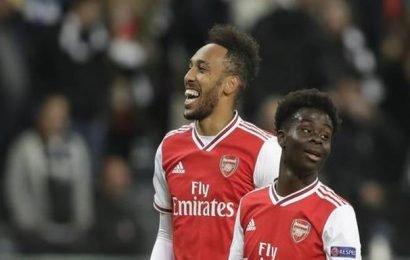 Europa League: Teenager Saka scores as Arsenal beat Eintracht Frankfurt 3-0