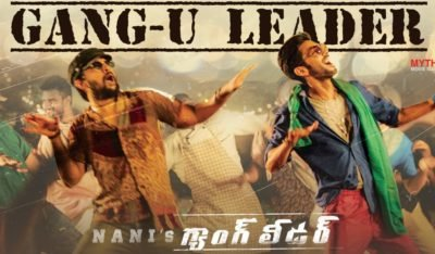 Gang U Leader Song is enough for Nani to become winner