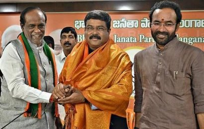 'KCR not supporting cooperative federalism'