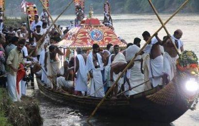 Thiruvonathoni sets off to Aranmula