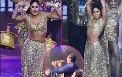 IIFA Awards 2019 Video: Katrina Kaif का नाम सुनते ही Salman Khan के दिल में बजी घंटी, गर्मजोशी के साथ किया अपनी एक्स का स्वागत | Bollywood Life हिंदी