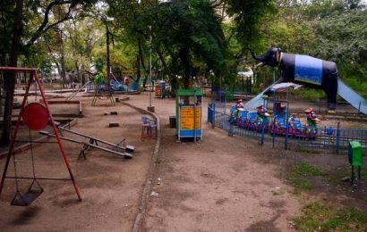 Dindigul's largest public park cries for attention