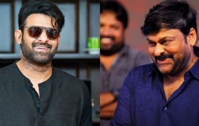 Prabhas back to Hyderabad! Ready to interview Chiranjeevi?