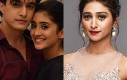 Shivangi Joshi and Mohsin Khan cheer Mohena Kumari Singh as she starts her own channel post RiMoRav split | Bollywood Life