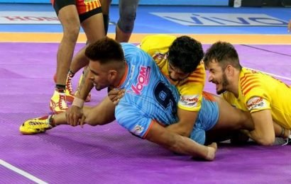 Captain Maninder Singh rescues Bengal Warriors against Gujarat Fortunegiants