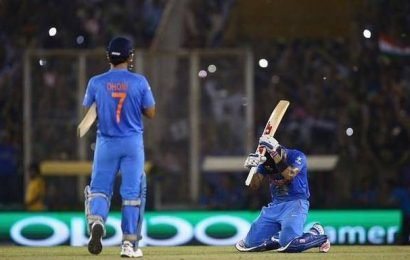 All this talk about Dhoni retiring has no basis, says M.S.K. Prasad