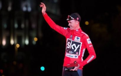 Grateful to be alive: Froome
