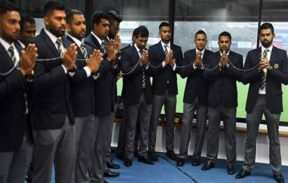 Sri Lanka squad leaves for Pakistan