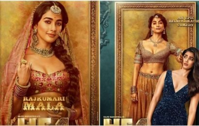 Pooja Hegde's Rajkumari Mala adds another pretty princess to Housefull 4's roster. See new posters