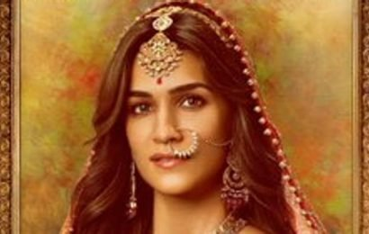 Kriti Sanon is a royal princess in her Housefull 4 character poster. See it here