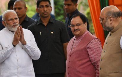 PM Modi chairs BJP meet to select candidates for Maharashtra, Haryana polls
