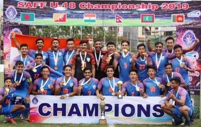India U-18 claim maiden SAFF title