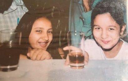 Alia Bhatt wishes BFF Akansha Ranjan with an adorable childhood pic | Bollywood Life
