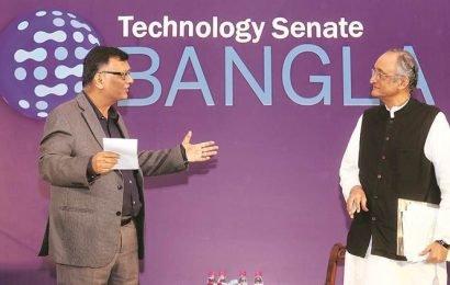 Mitra at technology senate Bangla: 'Tax cut to corporates won't boost economy'