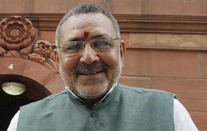 China no match for Indian economy, says Giriraj Singh