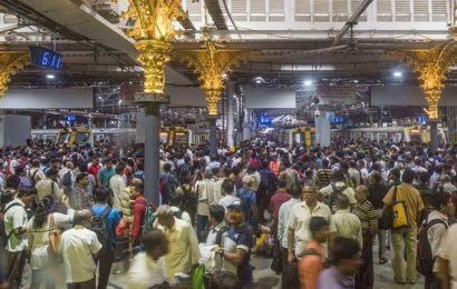 Mumbai's Central Railways suburban services hit during rush hour