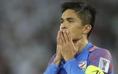 Sunil Chhetri unlikely to feature against Qatar in World Cup Qualifiers