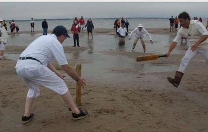 Cricket in mid-sea: An English club's unique match is truly about 'spirit of the game'