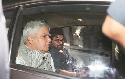 Felt compelled to visit JU as its custodian: Governor