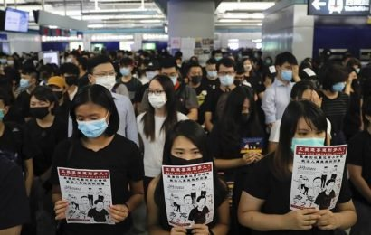 How Hong Kong's unrest is spilling onto New York campuses