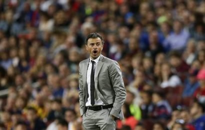 Spain coach Moreno says would gladly step aside if Luis Enrique wants to return