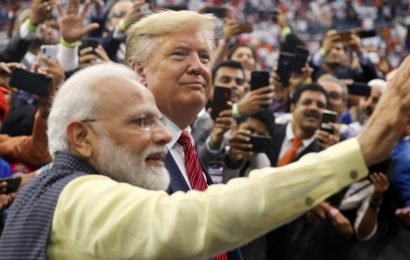 Amid cheers from Indian Americans, PM Modi invites Trump to visit India with family