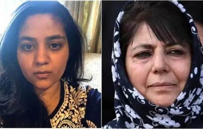 J&K: Mufti's daughter writes to Centre on behalf of mother, seeks info on number of arrests