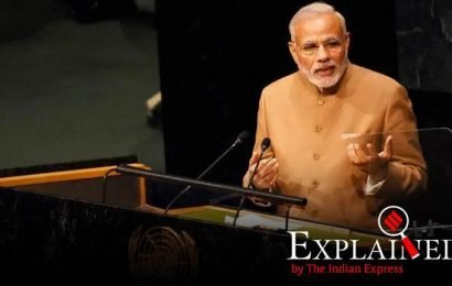 Explained: India vs Pak at UN, since 2014