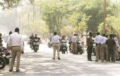 Two-wheeler challaned Rs 23,000 in Gurgaon under Motor Vehicles Act