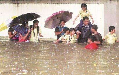 Mumbai crosses month's average rainfall in 4 days; Orange alert issued for today